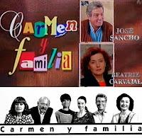 Beatriz Carvajal y Pepe Sancho protagonizaron Carmen y familia