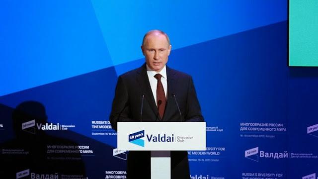 Tổng thống Putin tại diễn đàn Valdai