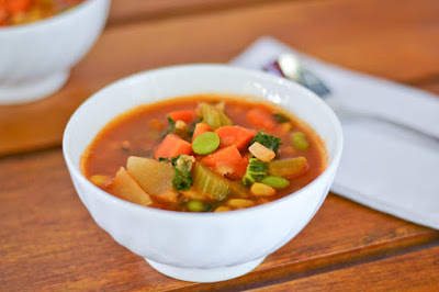 Delicious vegetable soup recipes