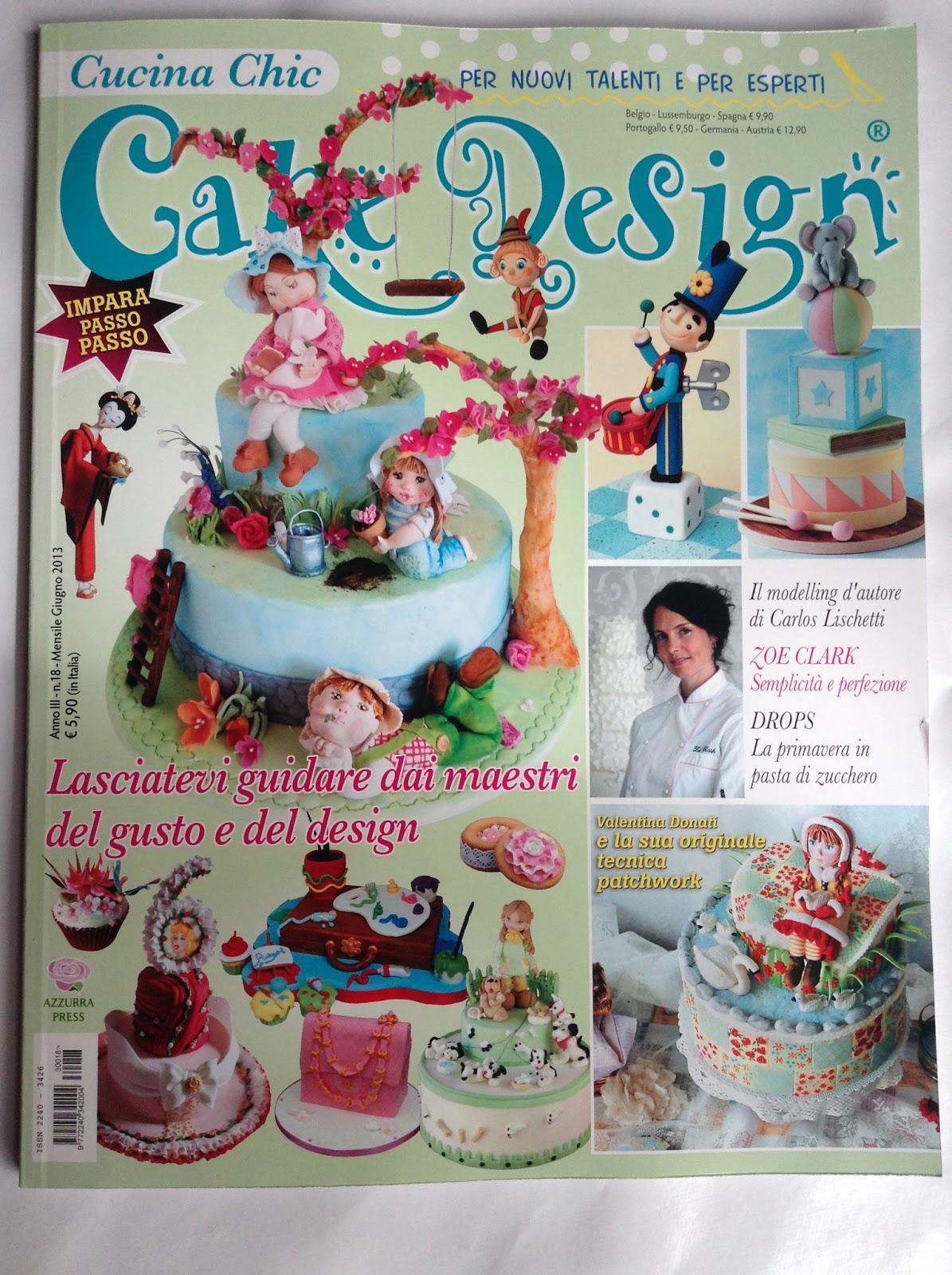 Le torte di Mariposa: Su CAKE DESIGN-CUCINA CHIC di Maggio ...