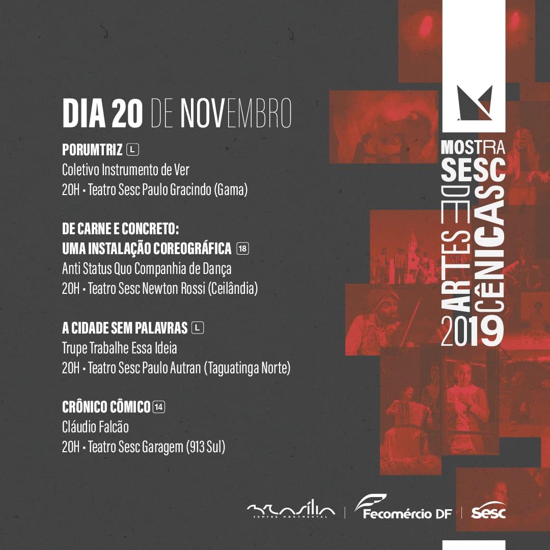 Mostra SESC de Artes Cênicas