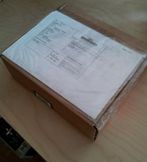 plain old cardboard box