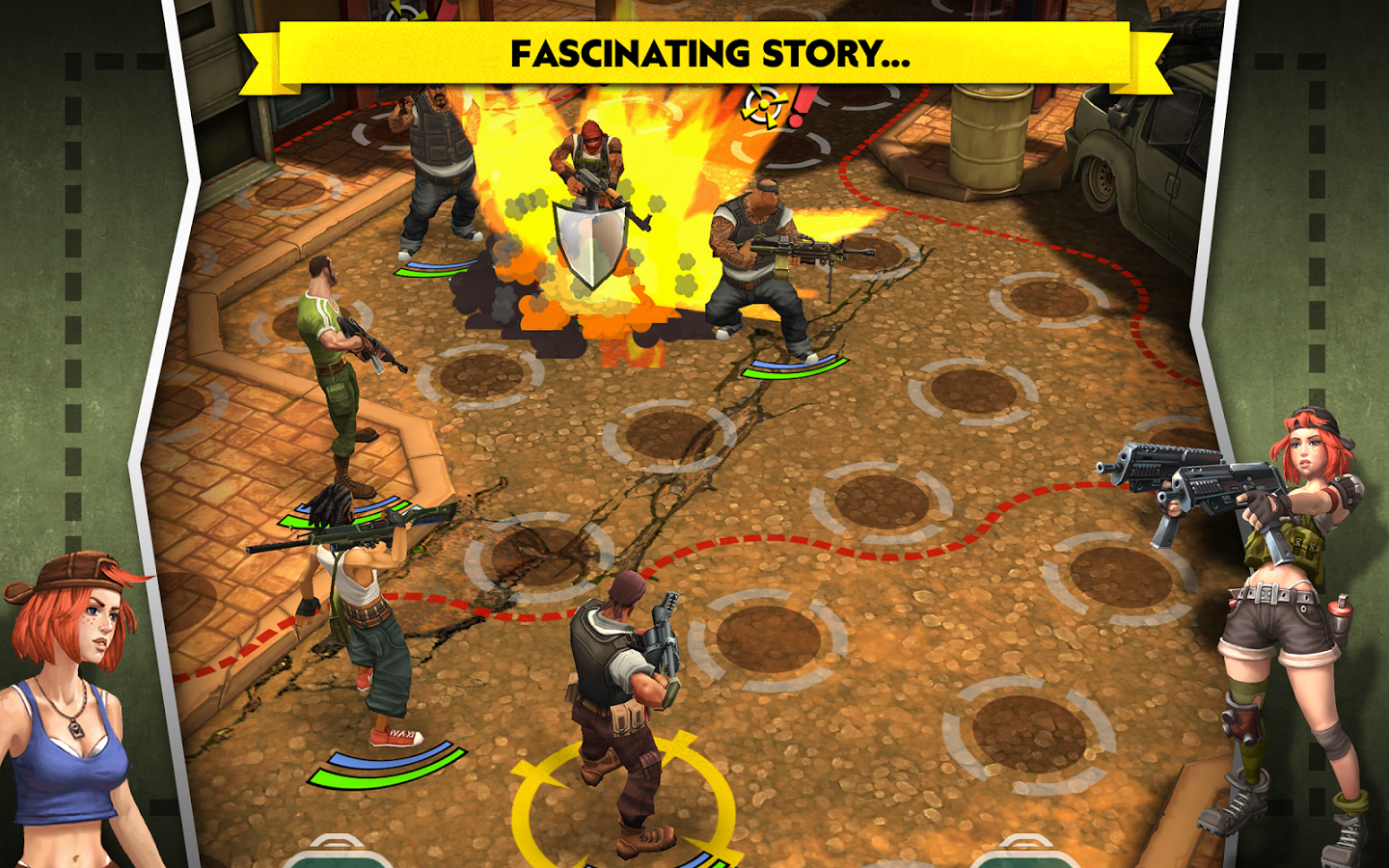 AntiSquad Tactics Premium v1.8 MOD APK screenshot