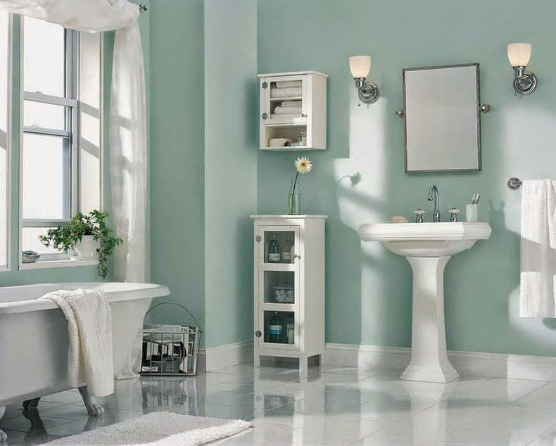 Modern Light Blue Dry Bathroom Remodeling Cost wallpaper