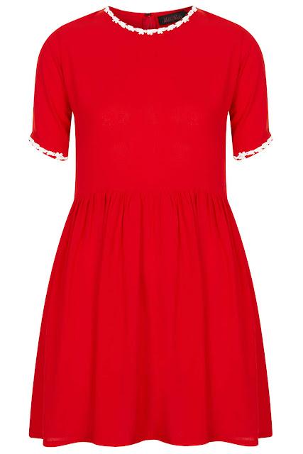 red motel dress