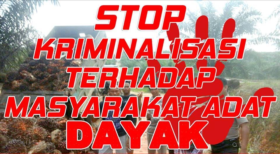 STOP KRIMINALISASI