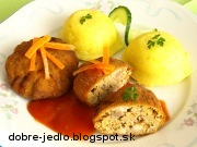 Holandské rezne s paradajkovým dipom - recept
