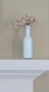 Como hacer Floreros con Botellas Pintadas de Vidrio