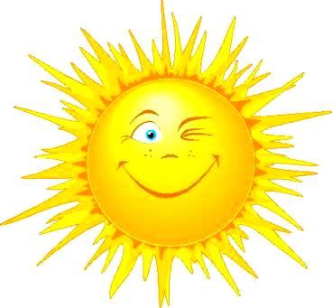 Dibujo del Sol para niños