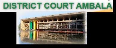 Vacancies in District Court Ambala (District Court Ambala) haryanajudiciary.gov.in Advertisement Notification Clerk & Peon posts