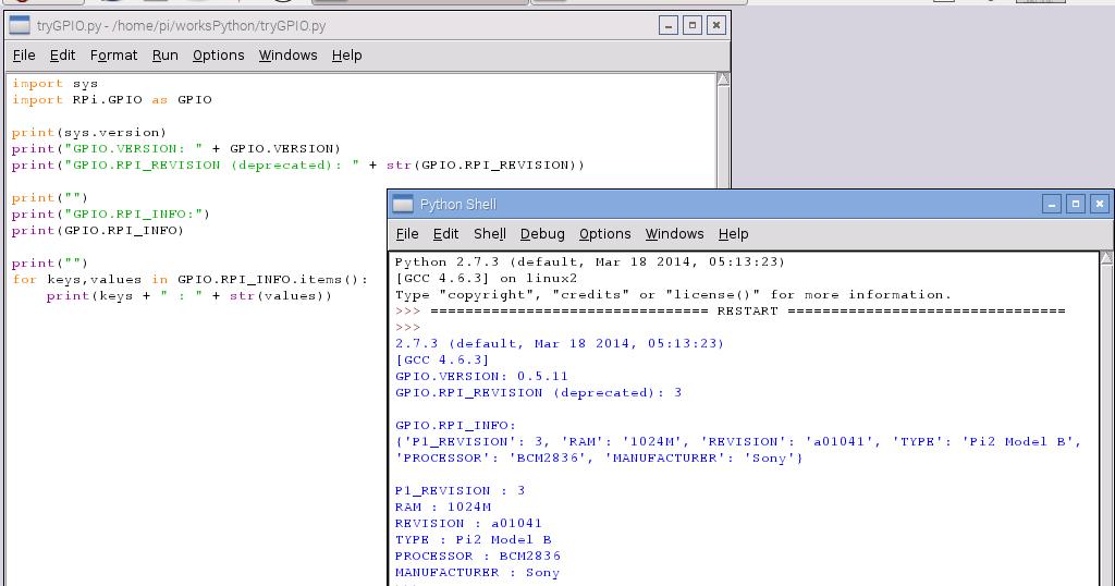 printing keys and values python