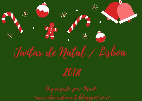 Jantar de Natal - Lisboa, 2018