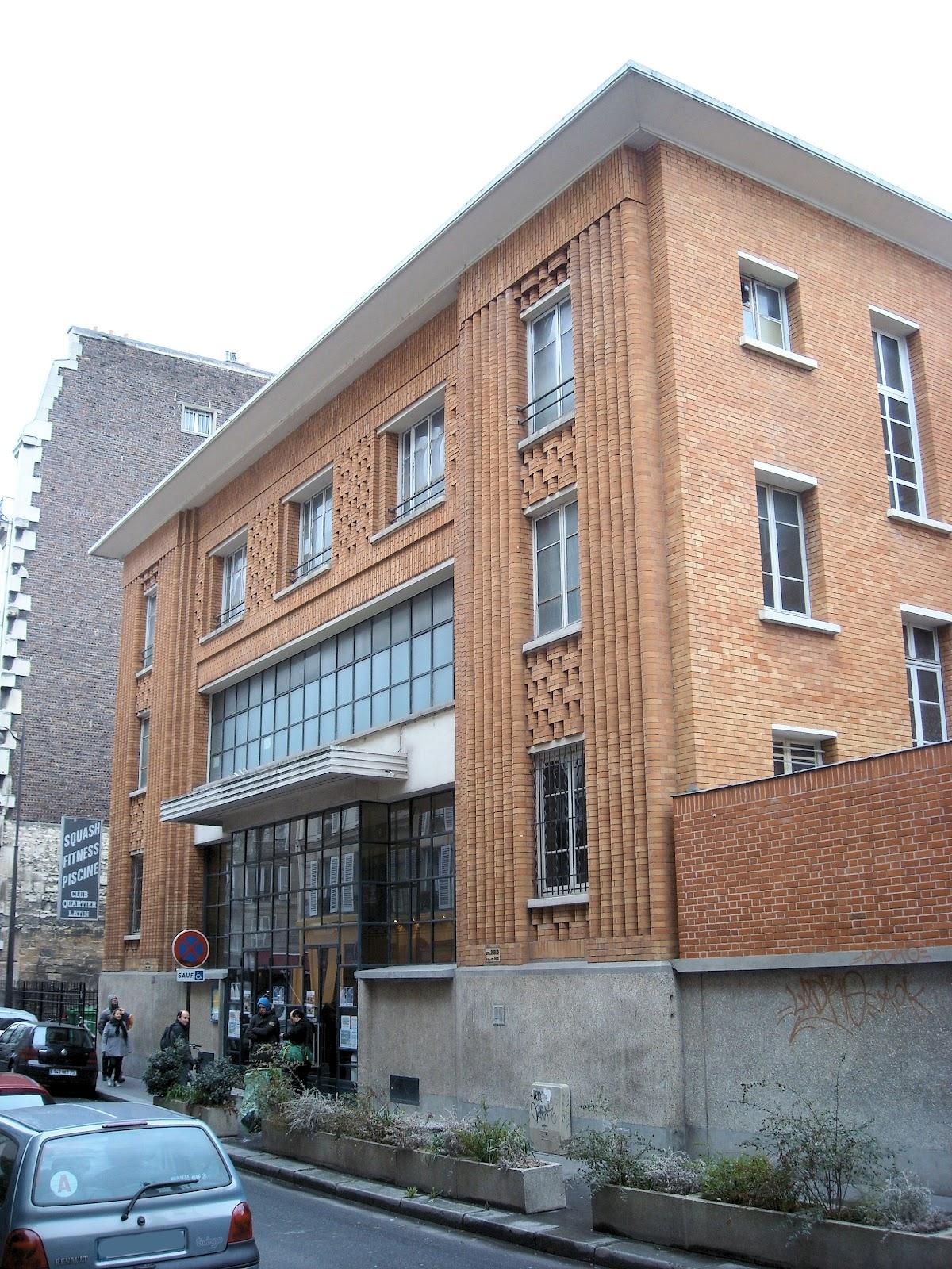 L 39 architecture parisienne des ann es 1920 1940 l 39 art for Piscine rue de pontoise