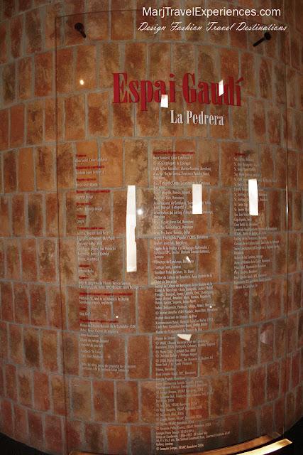 Antoni Gaudi La Pedrera Barcelona