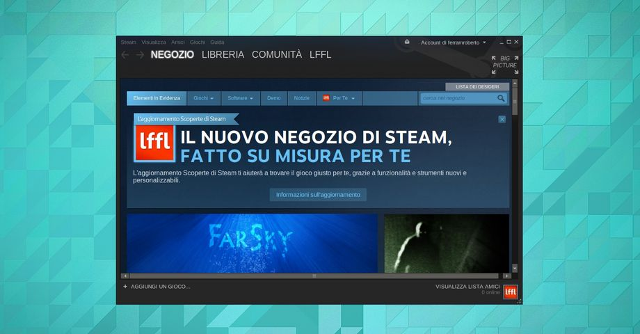 Valve Steam - Scoperte