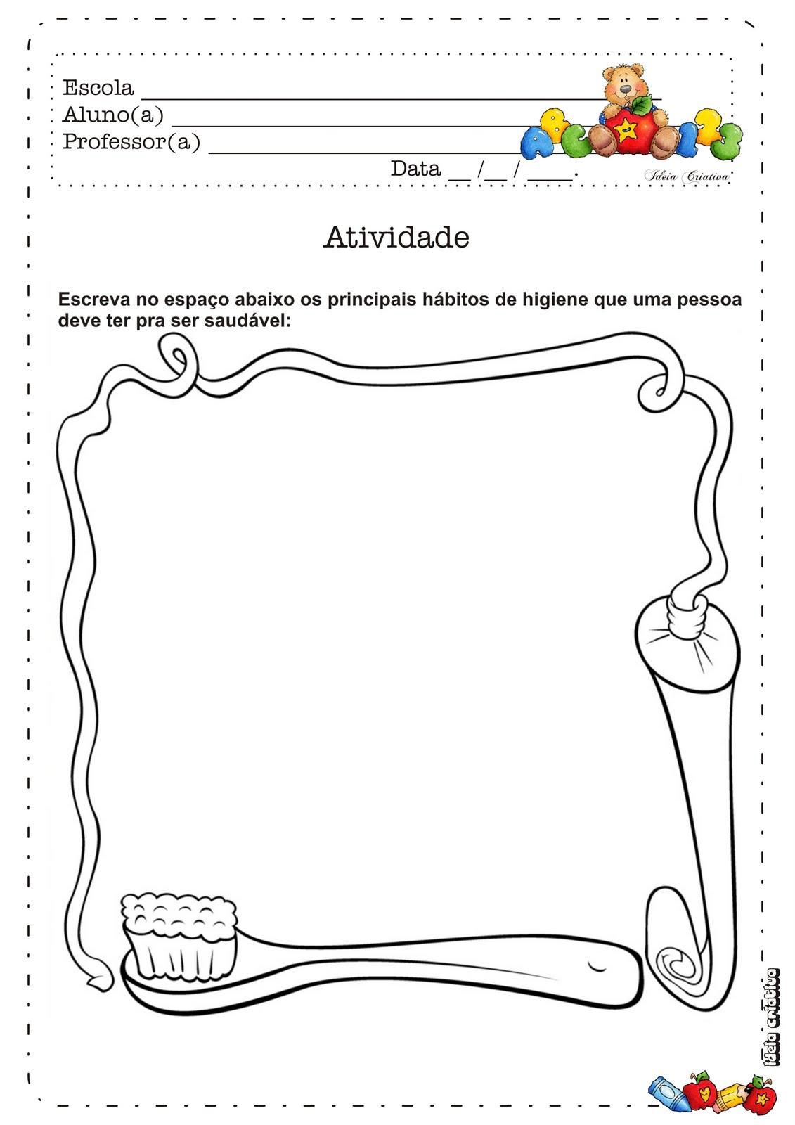 Parte Integrante Do Caderno Ursinho Estudioso 1   Ano Vol 1