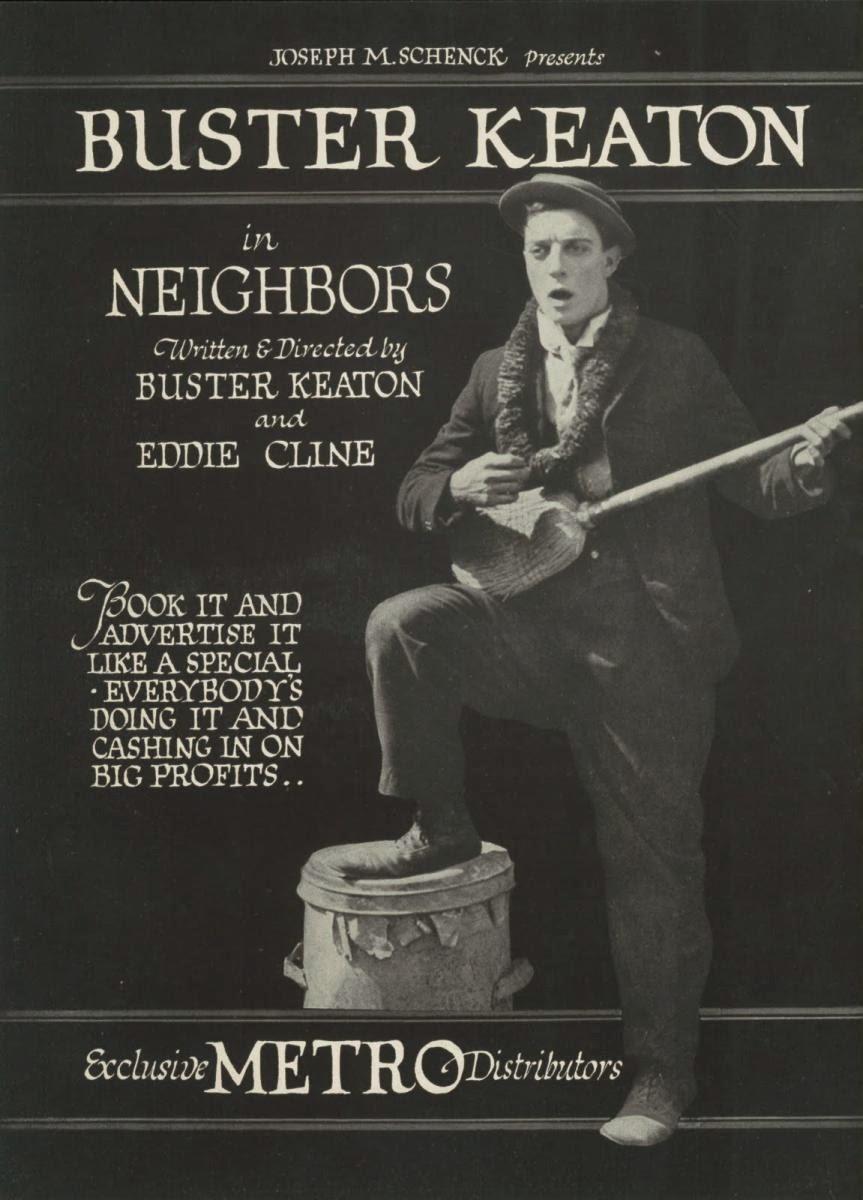 Vecinos Buster Keaton