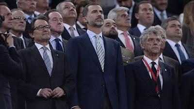 multa al fc Barcelona por la pitada al himno de España