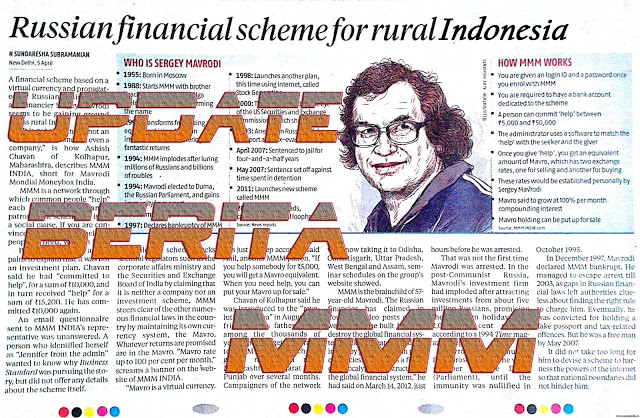 News Update MMM Mavrodi Indonesia Tentang Kesalahan Perpanjangan Waktu Perintah 168 Jam