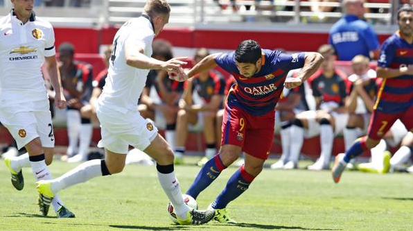 Barcelona 1-3 Mnachester United (ICC 26/7/2015)