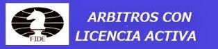 Arbitros de Ajedrez con LICENCIA  FIDE  (Dar clic a la imagen)