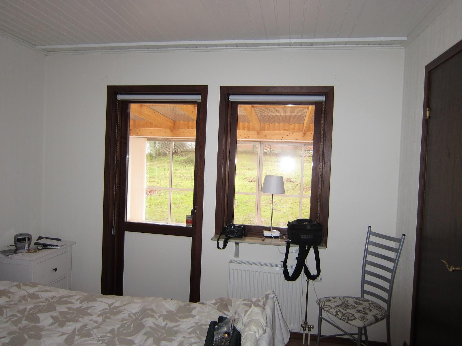 Mammas pyssel: nya gardiner i sovrummet
