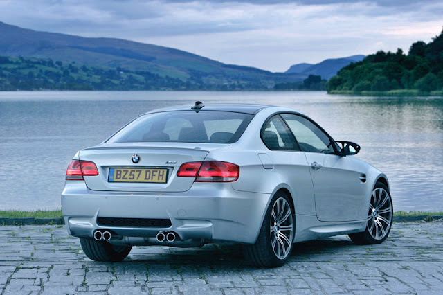 2008 BMW M3 Coupe Back Exterior