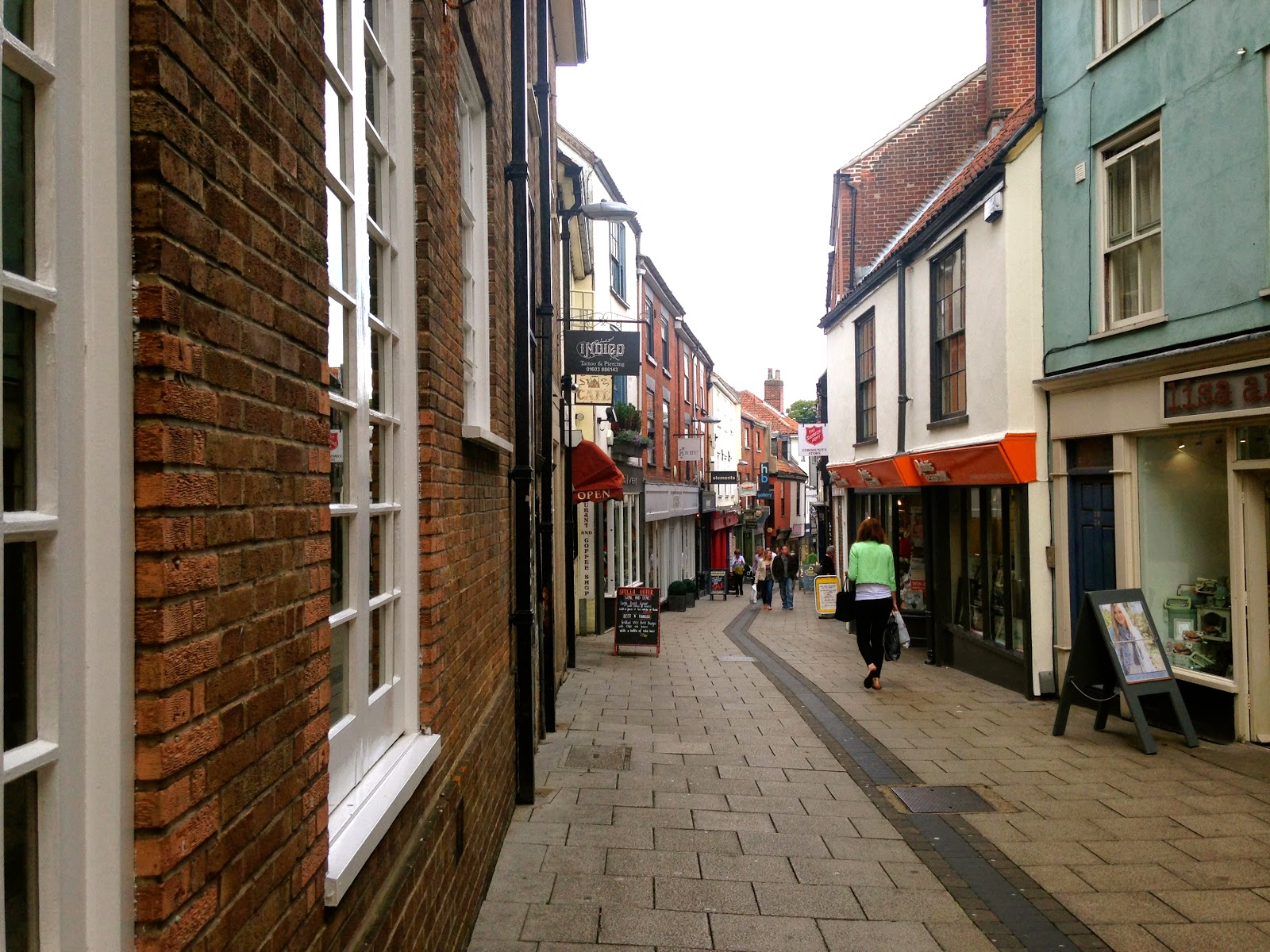 A picture of The Norwich Lanes