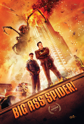 Poster Of Big Ass Spider (2013) Full English Movie Watch Online Free Download At Downloadingzoo.Com