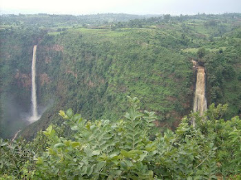 The Twin Falls of Kembata, Ethiopia.