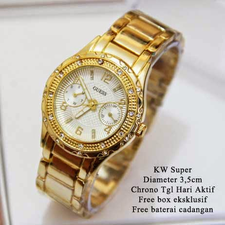 Guess Twin Chrono Gold