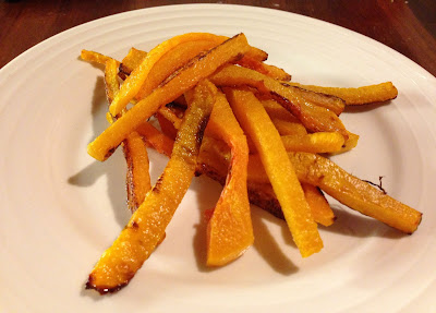 baked butternut squash fries