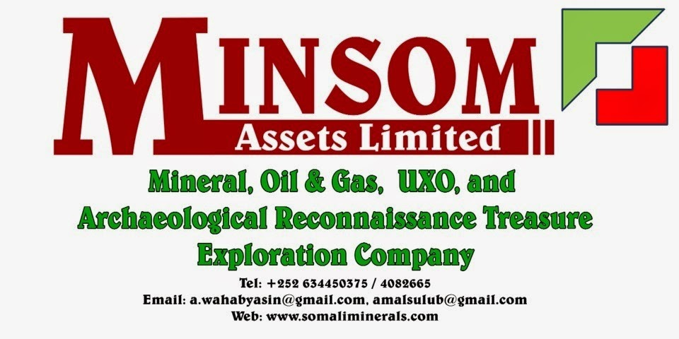Somaliland exploration company for minerals, oil & Gas