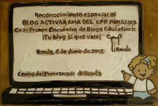 ¡TU BLOG SÍ QUE VALE!: I Concurso de Blogs Educativos