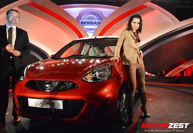 Kangana Ranaut Nissan Micra XShift Launch