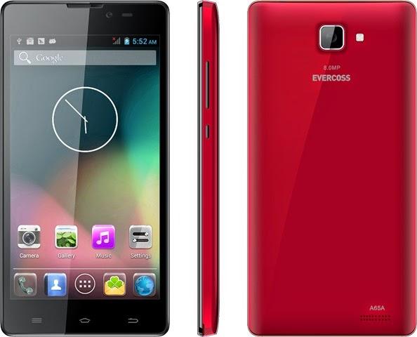 Evercoss A65A Smartphone Android Murah Rp 1 Jutaan