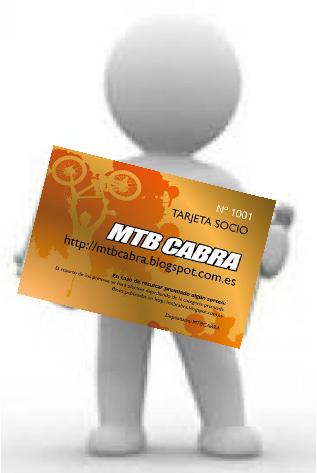 TAJETA SOCIO 2019 MTBCABRA