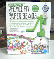 Tool for making paper beads