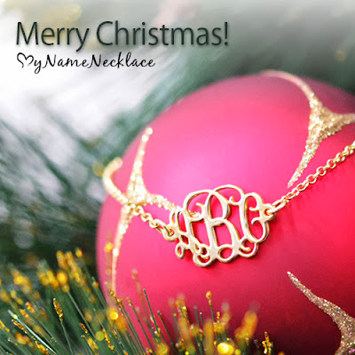 Merry Christmas from MyNameNecklace!