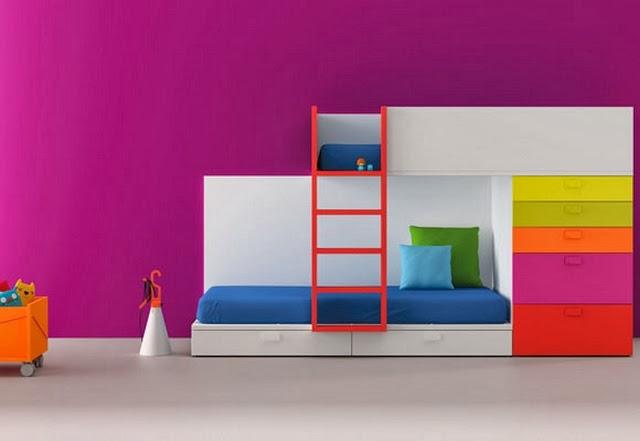 dormitorios infantiles compartidos habitaciones