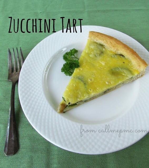 Fresh Zucchini Tart
