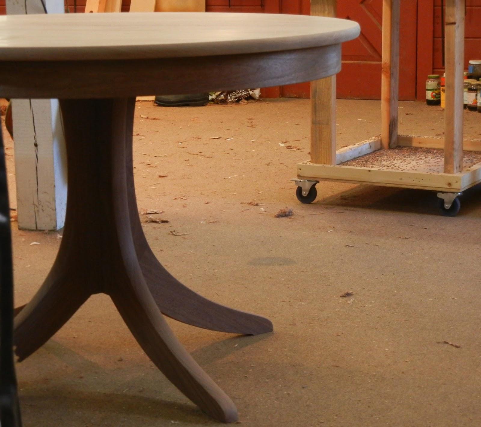 custom walnut table