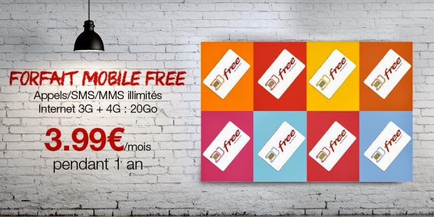 Free Mobile son offre illimitée à 3,99 euros sur vente-privée.com