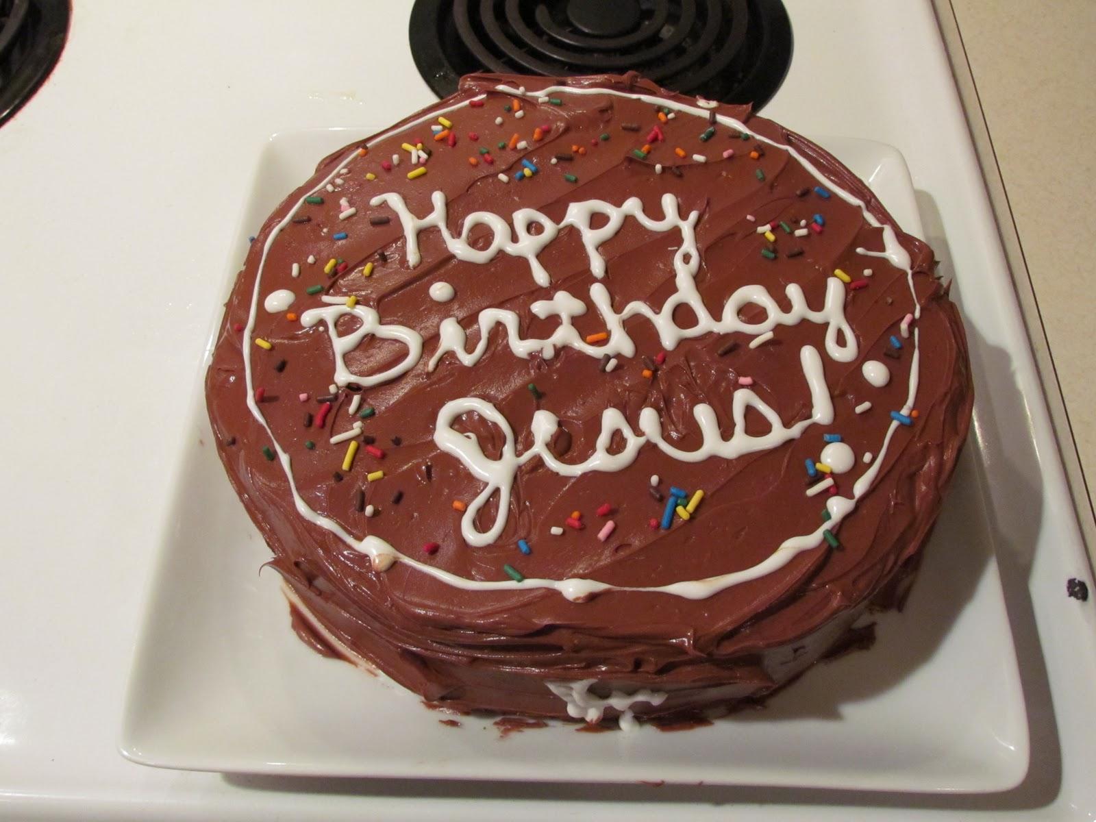 Jesus Birthday Cake Thriving Home