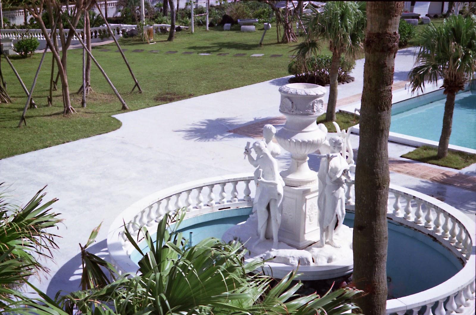 八丈島,ホテル,噴水,プール〈著作権フリー無料画像〉Free Stock Photos
