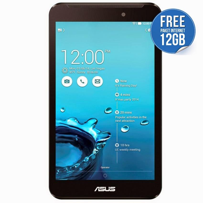 Spesifikasi dan Harga ASUS Fonepad 7 Terbaru | Tablet Intel Penuh Tenaga!