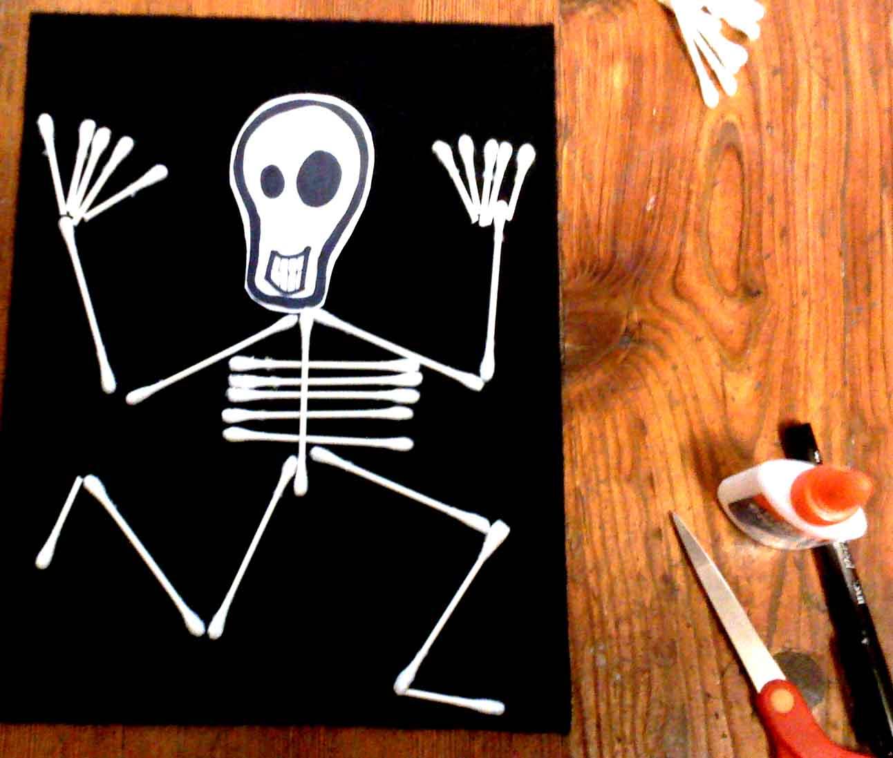 Сделать поделки для хэллоуина