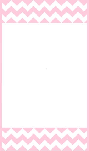 pink chevron border template