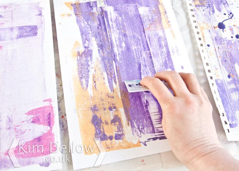Adding colour to paper