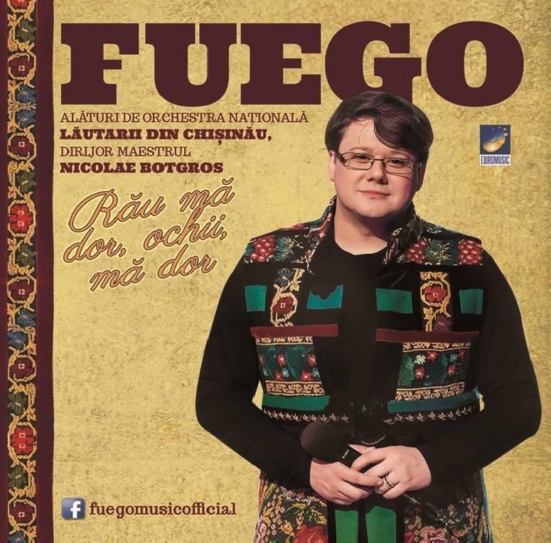 """Fuego - """"Rău mă dor ochii, mă dor"""", lansare CD, august 2015"""